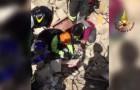 16 giorni dopo il terremoto sentono un richiamo sotto le macerie: il salvataggio è davvero inaspettato
