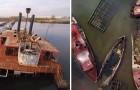 Il cimitero di barche di New York: un gioiello proibito dalla bellezza inquietante