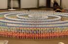 Elle met 25 heures pour positionner 15.000 pièces: regardez ce domino record!