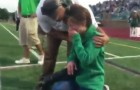A boy with Down syndrome gives his mother a special gift!