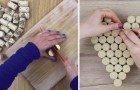 Three ingenious objects that you can create with corks!