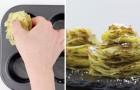 Mette le patate nella teglia per muffin: ecco come ottenere delle torri tutte da gustare!