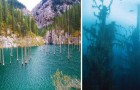 Questo lago è meraviglioso, ma ciò che si trova sotto le sue acque lo è ancora di più