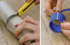 Decorare la tavola con il riciclo: ecco come creare degli elegantissimi portatovaglioli