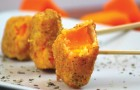 Fried Pumpkin --- Perfect with autumn Happy-Hour cocktails!