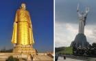 Quand l'art devient colossale: voici les plus hautes statues du monde