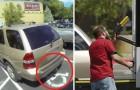 Hon parkerar på en parkeringsplats för rörelsehindrade men får ett svar som hon inte kommer att glömma