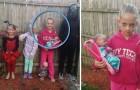 Pour le web le costume d'Halloween de cette fille est le meilleur: vous arriverez à comprendre ce qu'il représente?