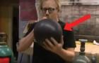 Je kent vast wel het effect van helium, maar kijk wat er gebeurt als je DIT gas inademt...