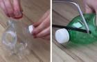5 geniale Ideen, um Plastikflaschen wiederzuverwerten: du wirst nicht an die vielen Möglichkeiten glauben!