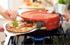 Veja a invenção que permite cozinhar a pizza no fogão em somente 6 minutos!