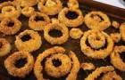 Anéis de cebola cozinhados no forno: uma versão mais saudável que não precisa ser frita!