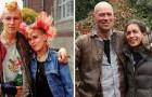 Rintraccia le persone 40 anni dopo e le fotografa nella stessa posizione: il risultato è unico
