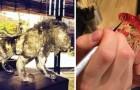 Questo ragazzo crea minuscole sculture commestibili: eccole in tutta la loro gustosa bellezza