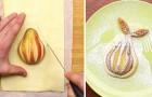 Zo verwerk je een peer op eenvoudige wijze in een overheerlijk en prachtig dessert!