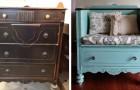 15 idéer för att förvandla gamla möbler: resultatet är oigenkännligt!