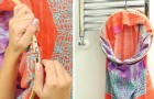Come riciclare la federa di un cuscino per creare una sacca da bucato