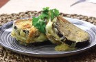 An easy recipe for Eggplant Cordon Bleu!