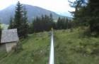 Discesa mozzafiato tra le alpi austriache