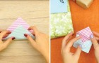 Make your own Origami-style greeting card!