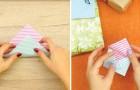 Zo vouw je een vel papier in een originele cadeauverpakking!