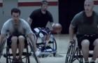 Un gruppo di amici gioca una partita di basket, ma il finale ti lascerà senza parole