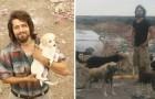 Abbandona tutto per dedicarsi agli animali: ora al suo rifugio ne sfama più di 500