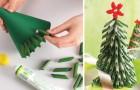8 idee per realizzare degli alberi di Natale con materiali inaspettati