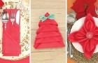 3 fascinerende manieren om servetten te vouwen voor een originele tafeldekking!
