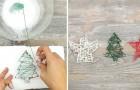 Décorations à faire soi-même: il suffit d'un fil et de la colle pour obtenir ces formes sympas