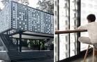 Scatole di gelato riciclate al posto dei muri: ecco la biblioteca che cerca di combattere l'analfabetismo