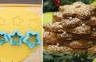 Light but tasty star-shaped shortbread cookies!