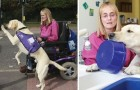 Deze vrouw kan haar leven leiden dankzij geleidehond Byron: moet je eens kijken wat hij allemaal kan