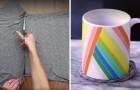 Trasforma delle vecchie magliette in originali oggetti per la casa: ecco come fare