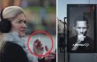 Een vrouw passeert een reclamebord met een sigaret: wat er dan gebeurt, spreekt boekdelen!
