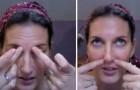Come alleviare il dolore causato dalla sinusite usando solo le dita delle mani
