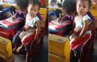 Dovrebbe saltare la scuola per badare al fratellino: ciò che decide di fare merita un applauso!