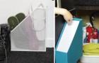 Creatief gebruik van documenthouders.. in elke kast van uw huis!