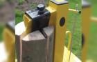 Holzhacken ist noch nie so lustig gewesen: hier die ausgefallensten Geräte die es so gibt