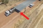Watch what road engineering technology can do! .... Fantastic!