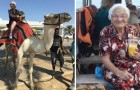 Niks breinaalden en gewrichtsklachten: deze oma gaat op haar 89ste ALLEEN de wereld rond