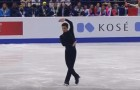 Este patinador acabou de ganhar pela quinta vez seguida o campeonato europeu de patinação!
