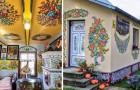 Le village polonais entièrement recouvert de motifs floraux: l'origine de la tradition est pleine de surprise
