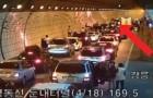 Ein Unfall in einem Tunnel in Südkorea: die Reaktion der Autofahrer ist vorbildlich!