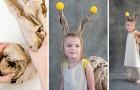 Ecco come realizzare un costume da lumaca per bambini con la carta pacchi