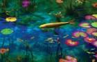 Schilderij of werkelijkheid? Deze Japanse vijver lijkt op een schilderij van Monet!