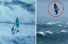 Windsurfing in a HURRICANE! Crazy!? Exhilarating!