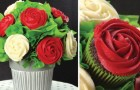 Discover how to make an easy Rose Cupcake Bouquet!