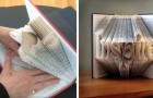 Questa artista riesce a trasformare le pagine dei libri in incantevoli sculture