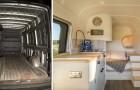 Un ingénieur dépense 18.000 dollars et transforme un van en une petite maison de rêve